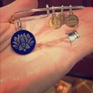Alex & Ani blue Lotus 💕